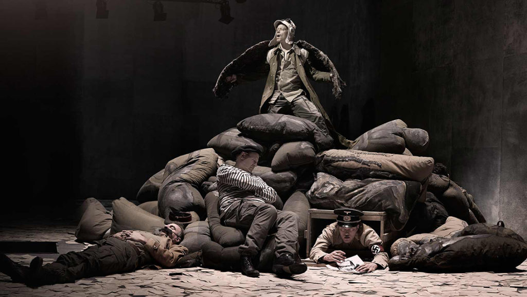 Andre verdskrigen natt i verda, Det norske teatret, Milja Salovaara
